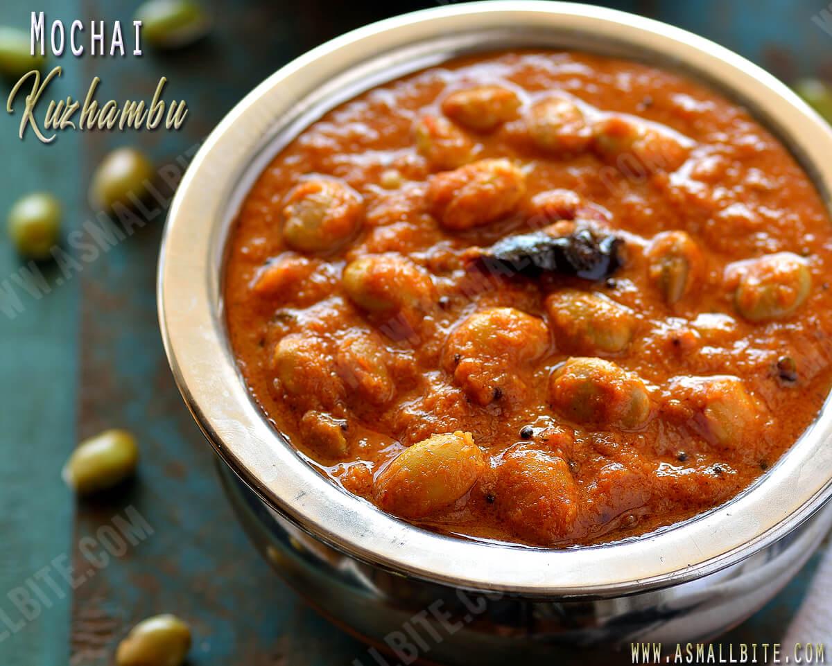 Mochakottai Kuzhambu Recipe 1