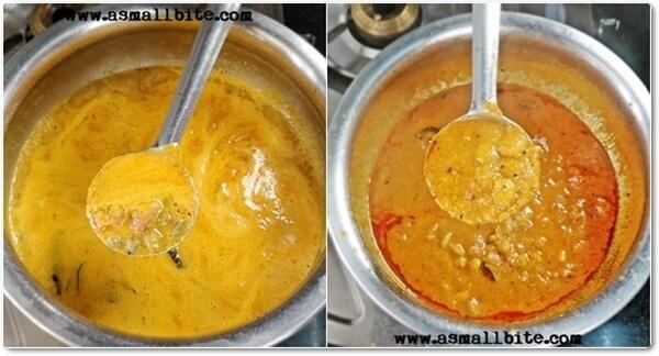 Mochakottai Kuzhambu Recipe Steps7
