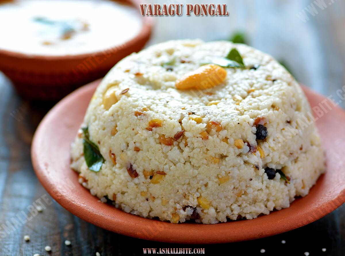 Varagu Pongal Recipe 1