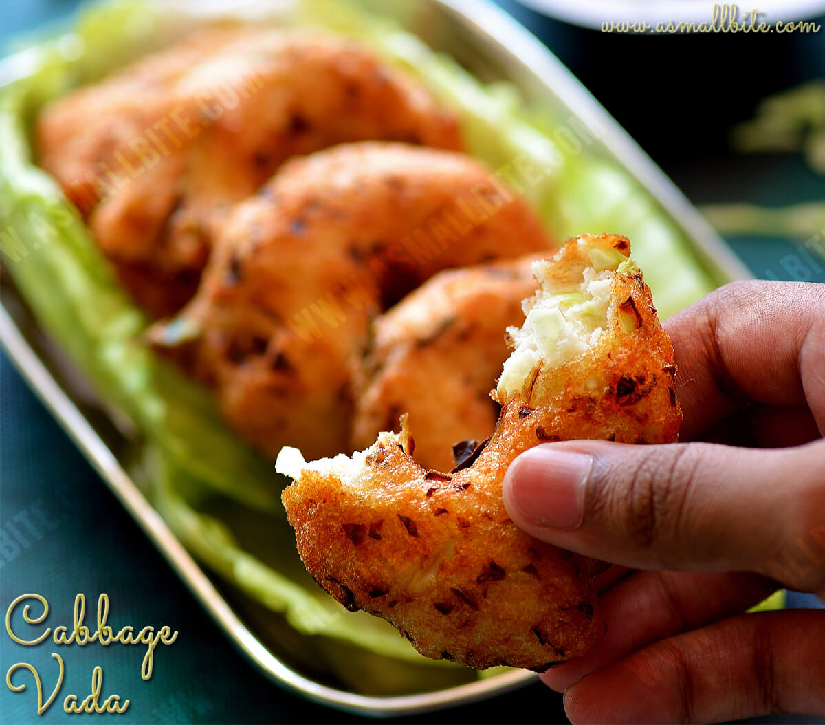 Cabbage Vada Recipe