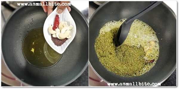Curry Leaves Rice Recipe Steps6