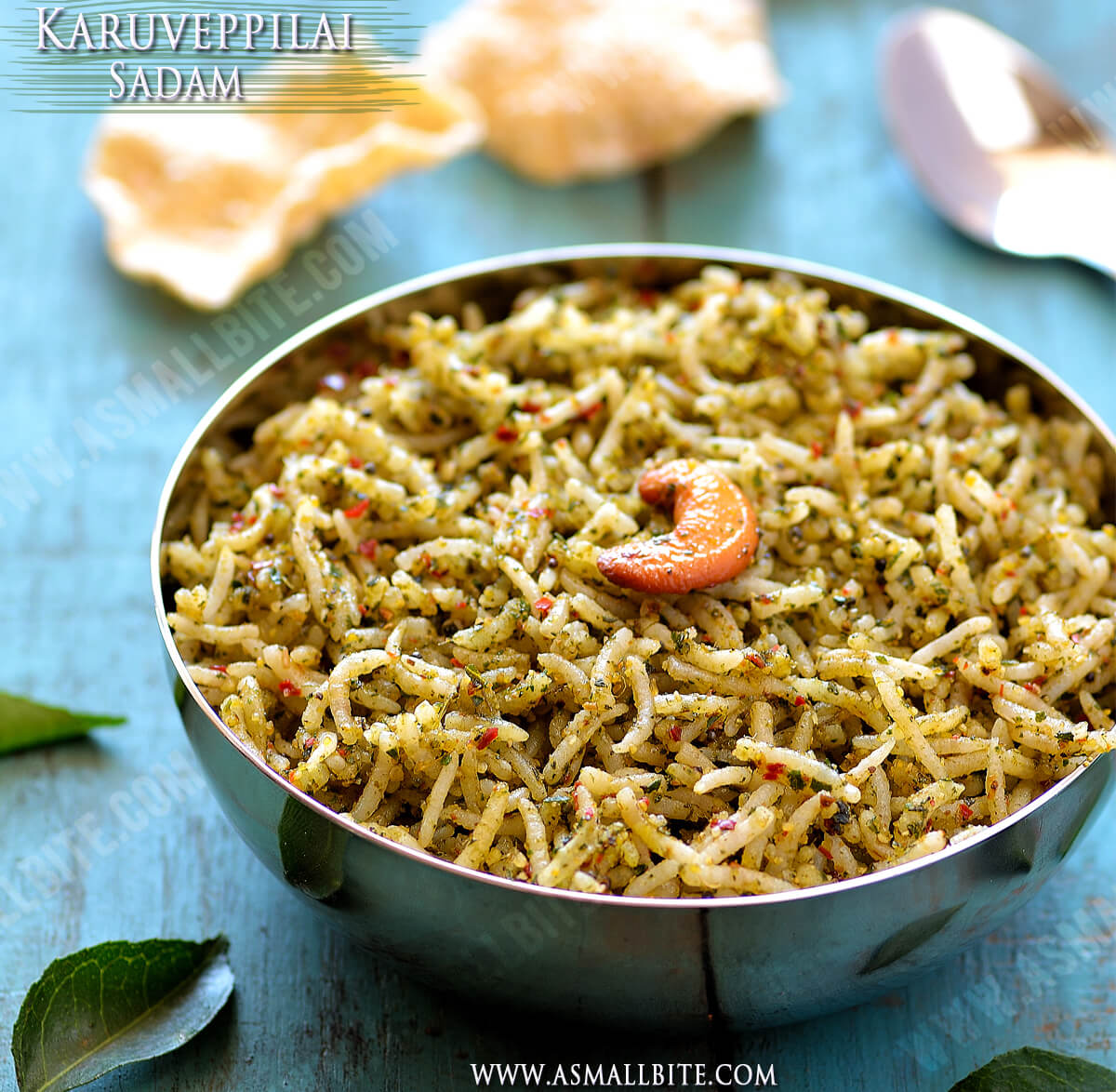 Karuveppilai Sadam Recipe