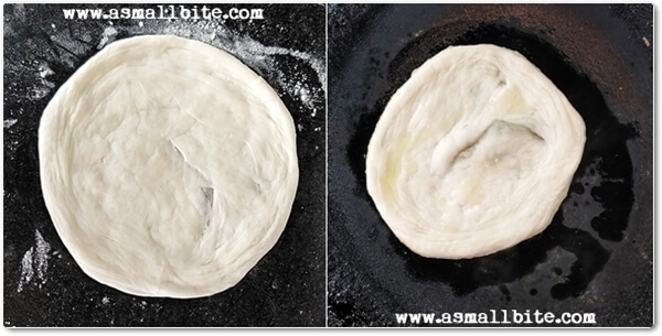 Kerala Parotta Recipe Steps9