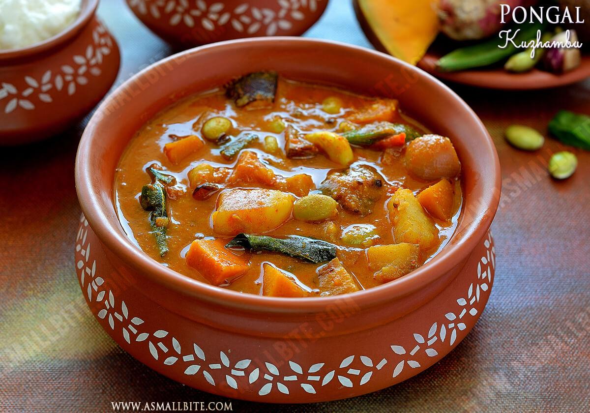 Pongal Kuzhambu Recipe 1