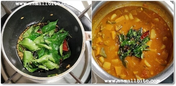 Pongal Puli Curry Recipe Steps8