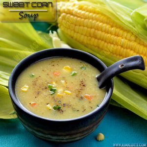 Sweet Corn Soup Recipe 1