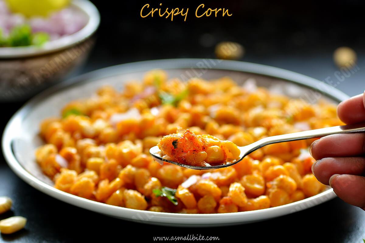 Crispy Corn Kernels Recipe