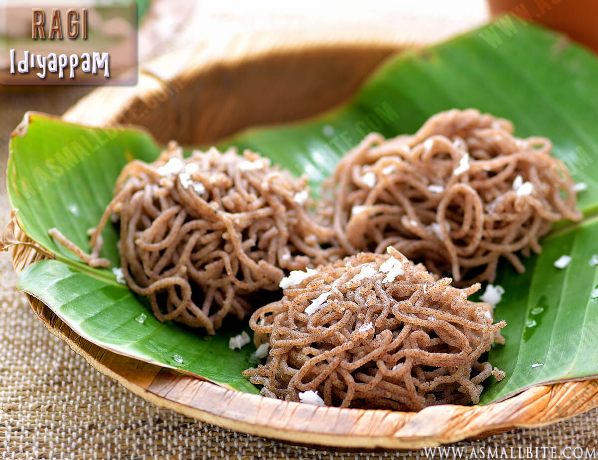 Idiyappam Using Ragi Flour