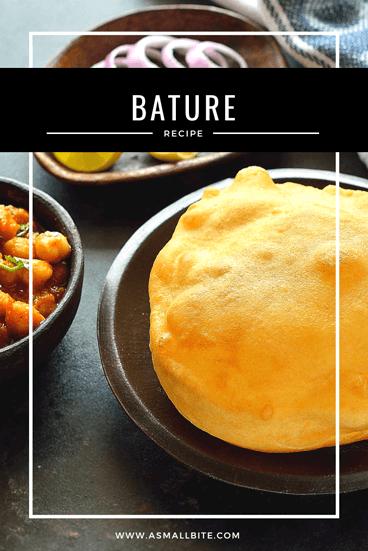 Punjabi Bature Recipe