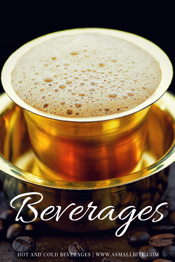 Beverages Recipe Index