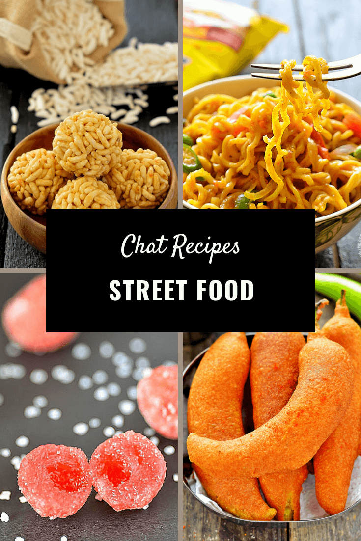 Chats Street Food Recipe Index