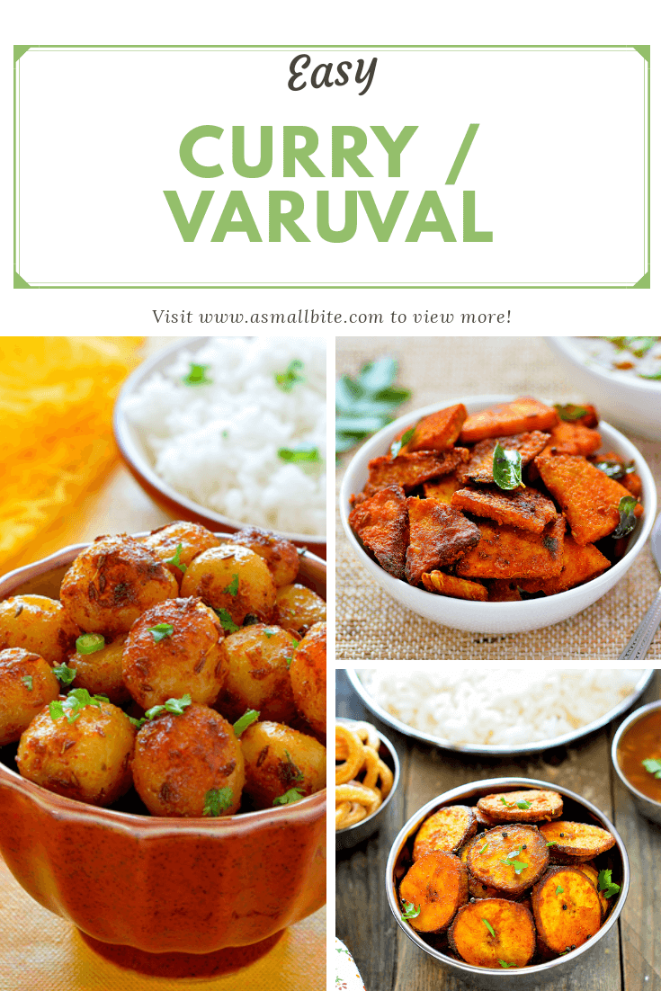 Curry Varuval Recipes