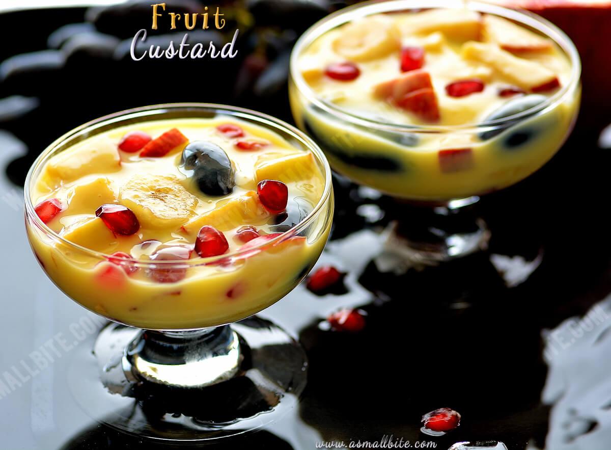 Fruit Custard Recipe