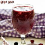 Grape Juice Recipe | Homemade Black Grape Juice