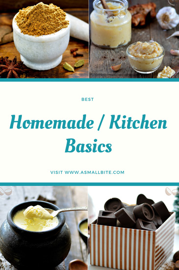 Homemade Basics Recipes