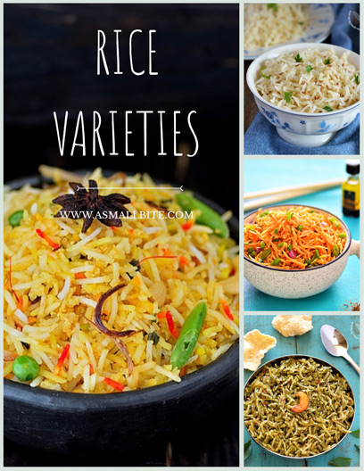 Indian Vegetarian Rice Dishes