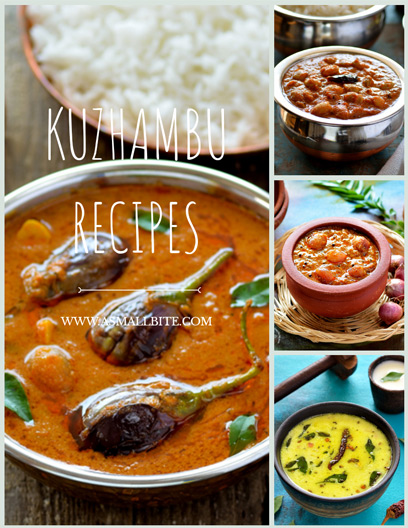 Kuzhambu Recipes
