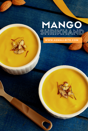 Mango Shrikand Recipe