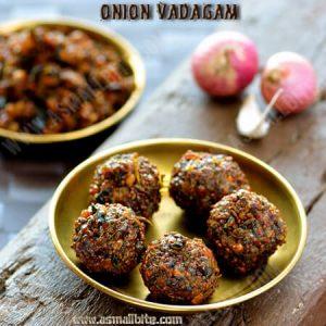 Onion Vadagam Recipe 1