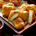 Paneer Pakora Recipe | Paneer Pakoda Recipe