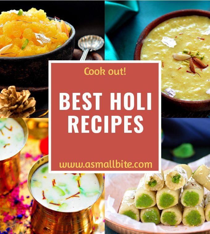 Popular Holi Recipes