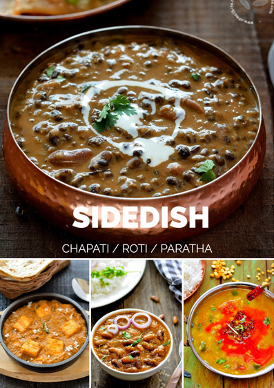 Chapati Roti Sidedish Recipes