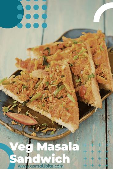 Veg Masala Sandwich Recipe
