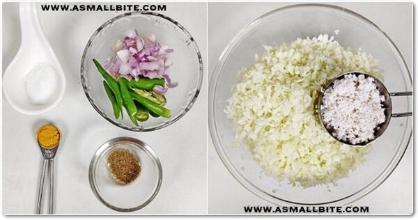 Cabbage Thoran Recipe Steps1