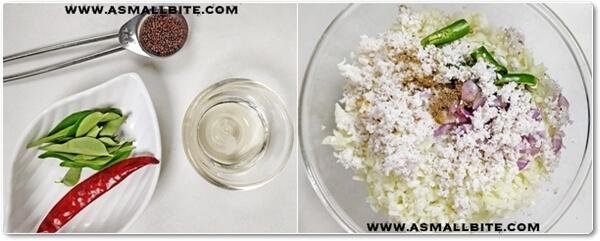 Cabbage Thoran Recipe Steps2