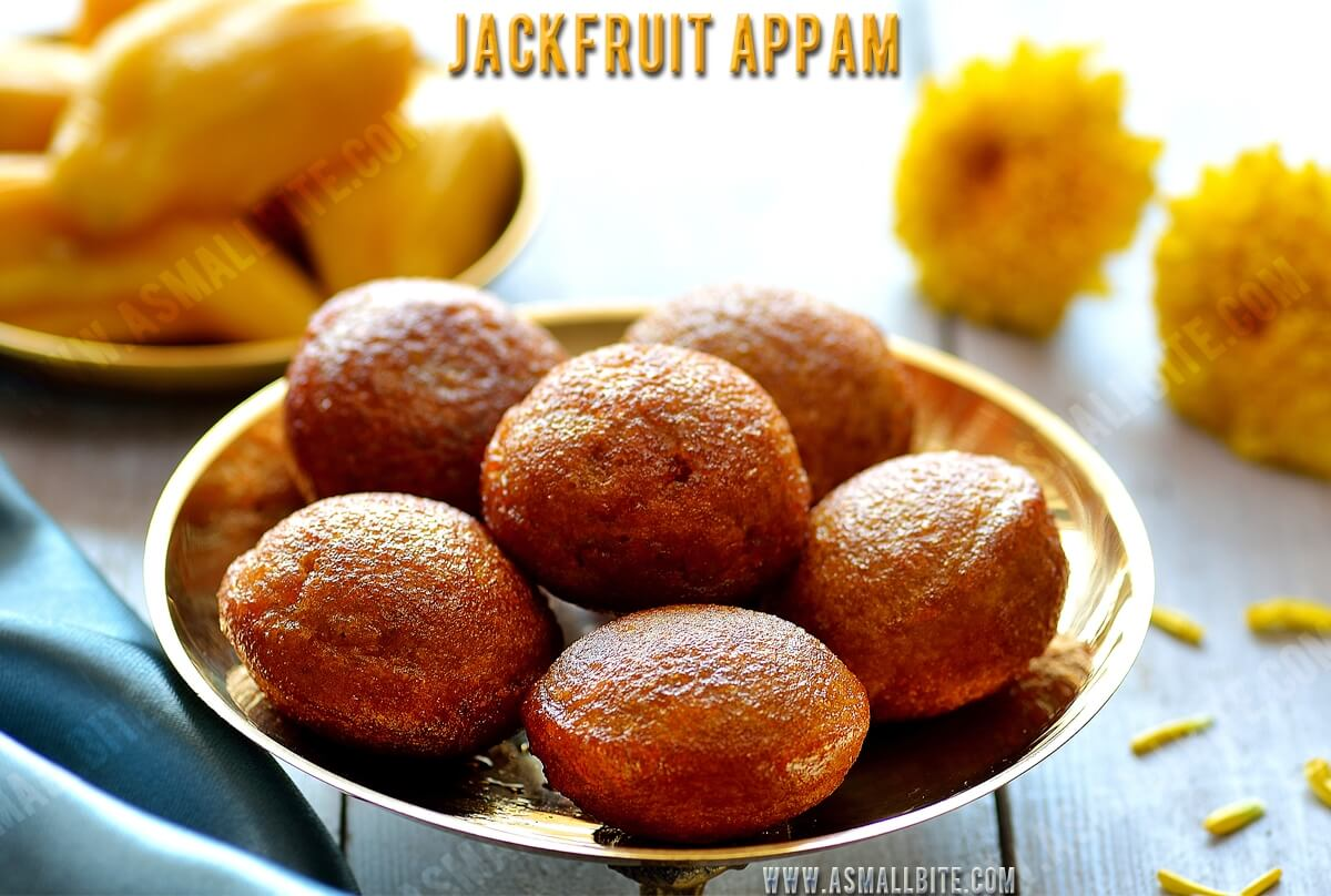 Jackfruit Appam Recipe 1