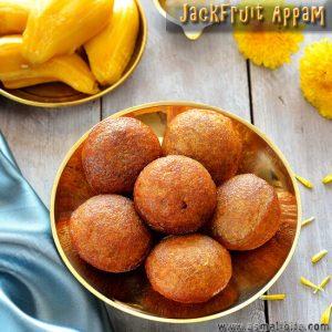 Jackfruit Appam Recipe
