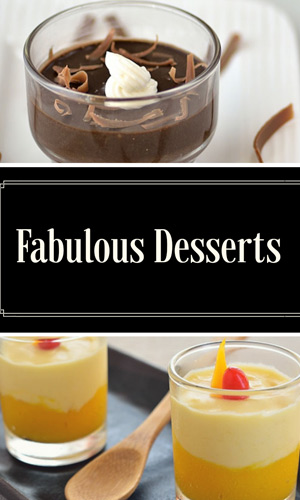 Desserts Recipe Index