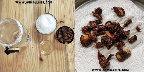 Homemade Nannari Syrup Recipe Steps1