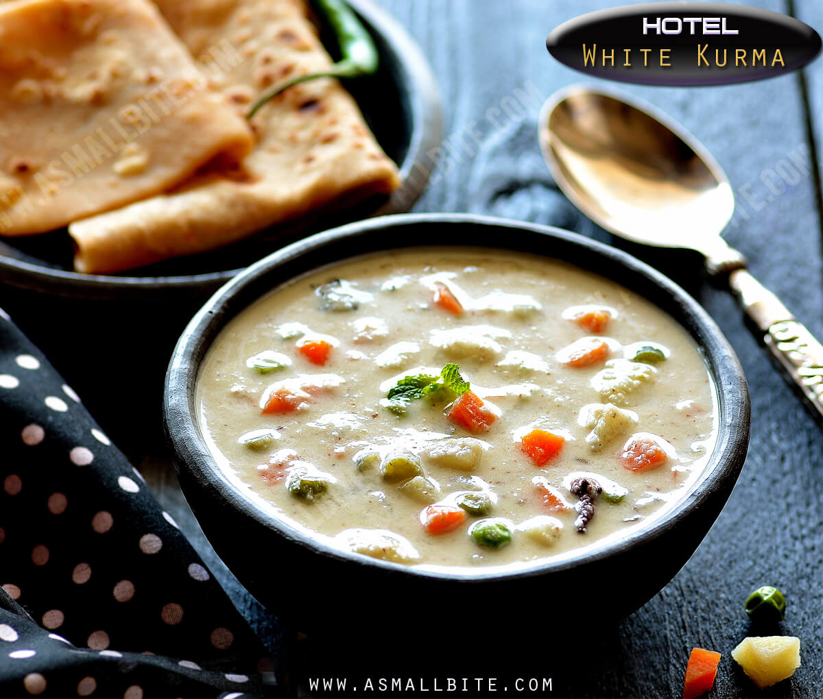Hotel White Kurma Recipe