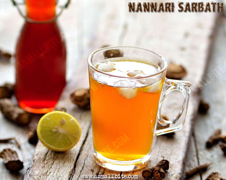 Nannari Sarbath Recipe