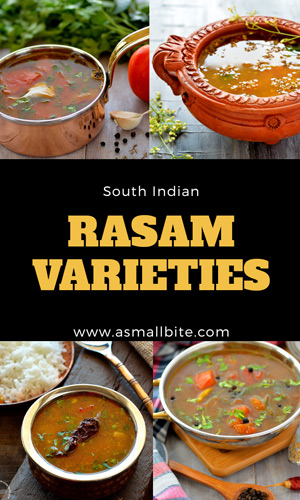 Rasam Varieties Recipe Index