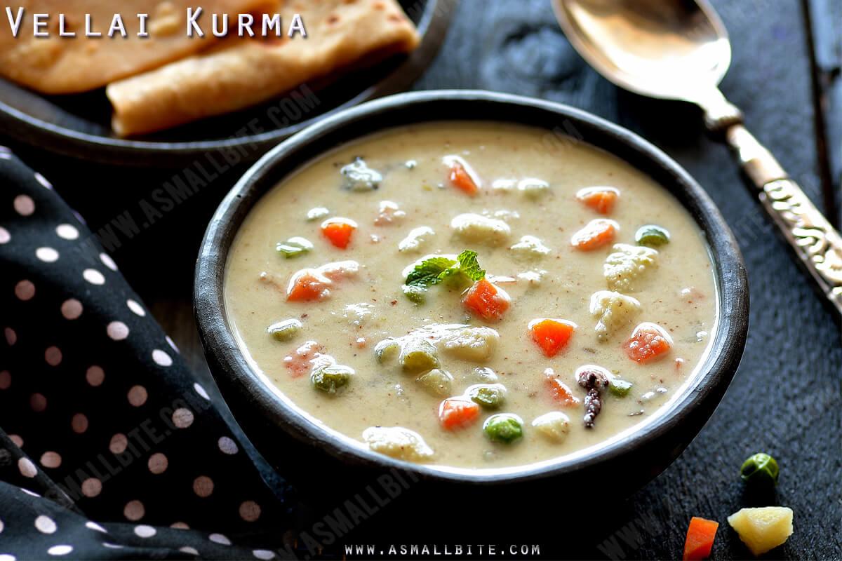 Saravana Bhavan Vellai Kurma Recipe