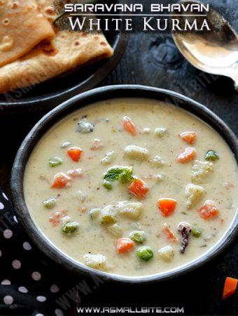 Saravana Bhavan White Kurma Recipe