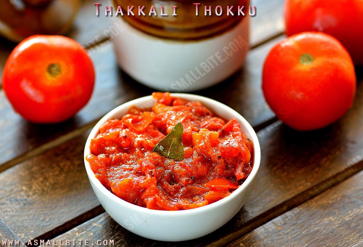 Thakkali Thokku Recipe 1