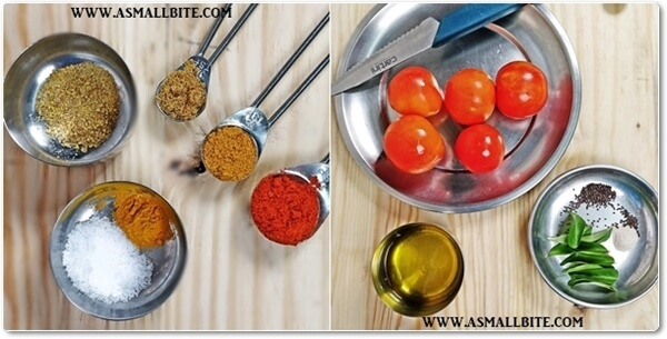 Tomato Thokku Recipe Steps1