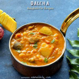 Dalcha Sidedish for Biryani