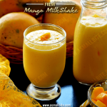 Mango MilkShake Recipe | Fresh Mango Milkshake