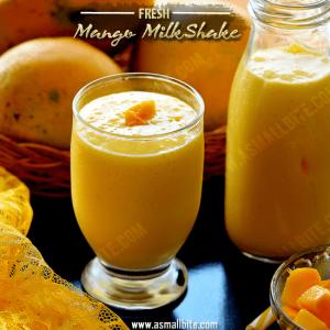 Fresh Mango Milkshake