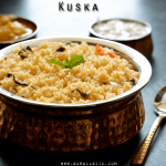 Kuska Recipe | Kuska Biryani Recipe | Plain Biryani Recipe