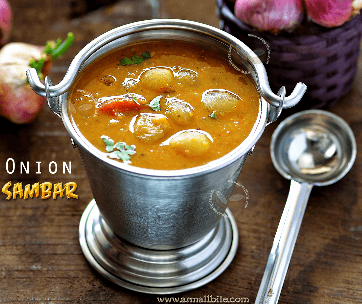 Onion Sambar Recipe