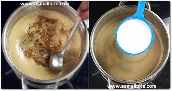 Thengai Paal Payasam Recipe Steps7