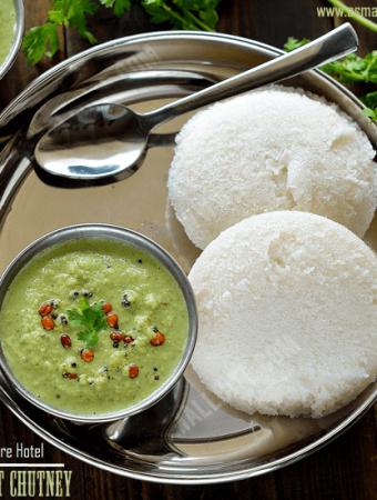Bangalore Hotel Style Coconut Chutney