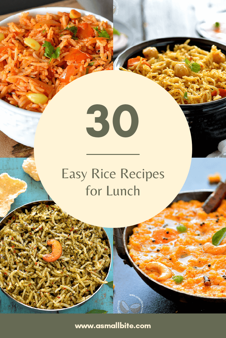 Easy Rice Recipes For Lunch
