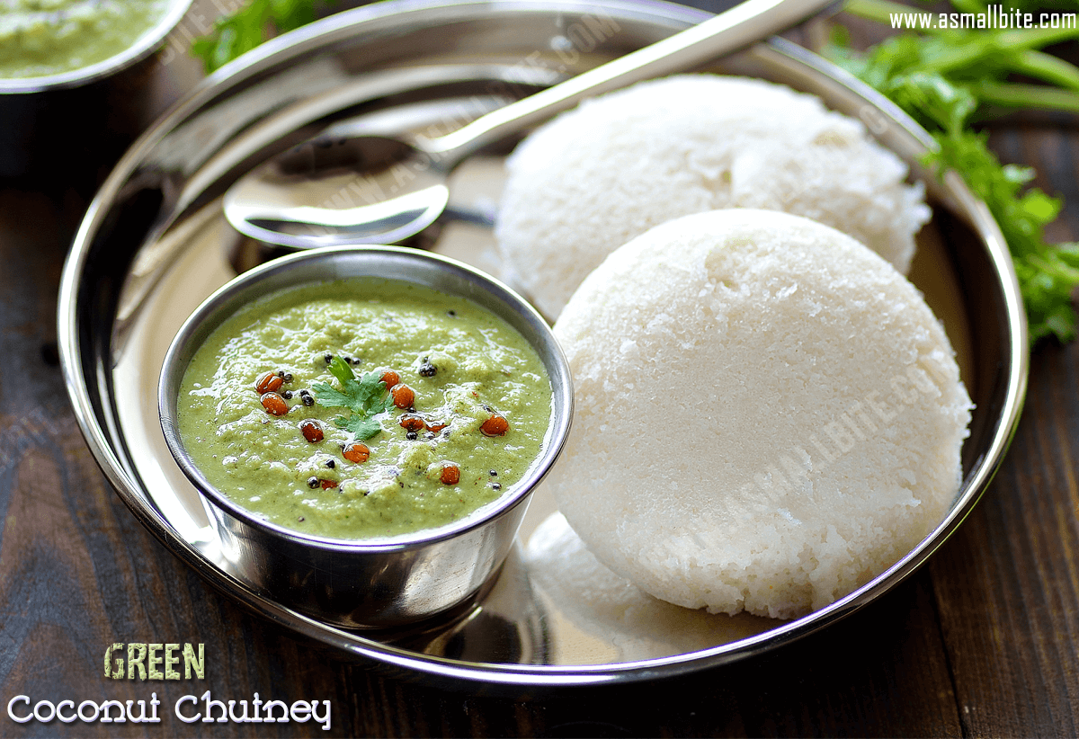 Green Coconut Chutney Recipe