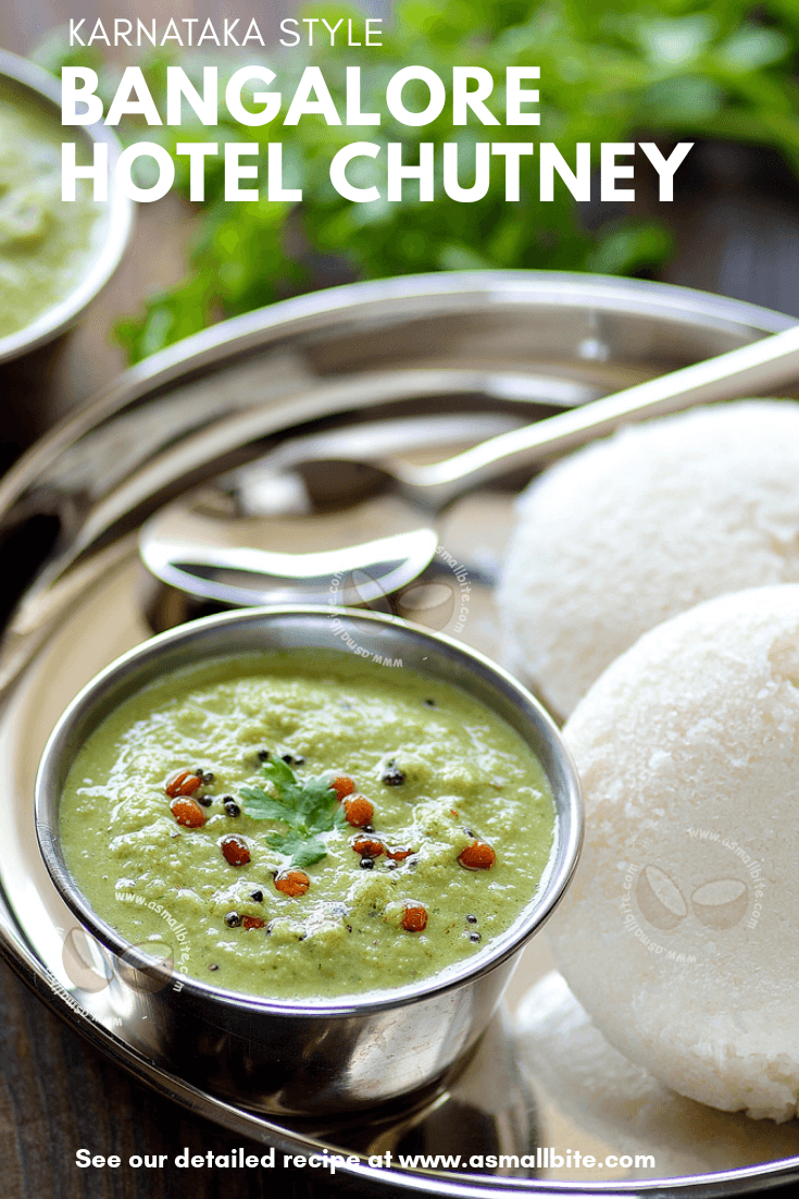 Hotel Green Coconut Chutney Recipe